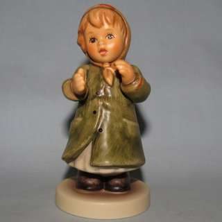 "Goebel Hummel Figurine ""Keeping Time"" #2183 TMK 8"