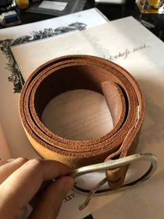 (USED) EDC by ESPRIT GENUINE COW LEATHER BELT