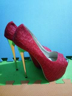 Brand new: Gucci Inspired Pink Heels