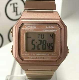 Casio Rose Gold