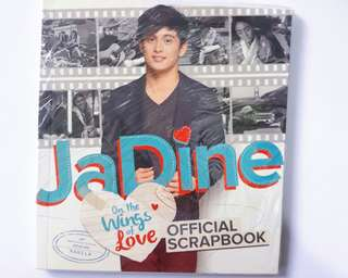 Jadine On the Wings of Love Official Scrapbook