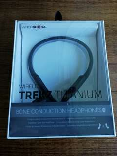 99% new TREKZ Titanium wiresless