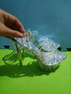 Glass Cinderella Heels/Pumps