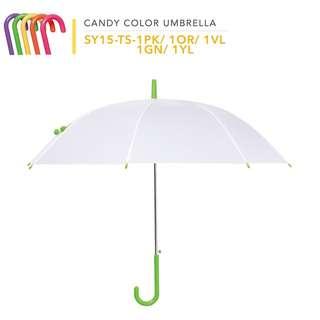 日本半透明磨砂鈴鐺雨傘(五色)