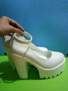 White Lolita Shoes