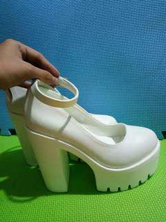 White Lolita Shoes