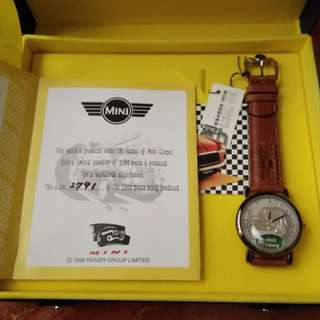 1996 Limited Edition - Mini Cooper Watch
