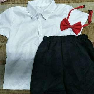 🚚 幼稚園畢業服(尺碼110)約20公斤可穿