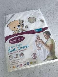 ClevaMama Aprong Bath Towel