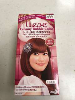 Liese Creamy Bubble Colour Jewel Pink