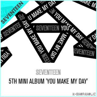 SEVENTEEN - 5th Mini Album ' YOU MAKE MY DAY '