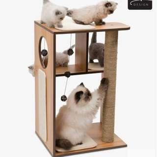 Vesper cat furniture v-box large
