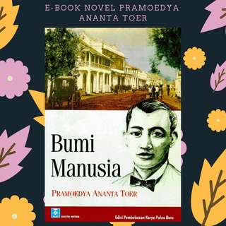 EBOOK PDF NOVEL BUMI MANUSIA