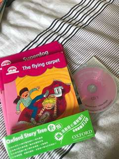 Oxford story tree (book 、WorkBook 、CD) Pink Color level