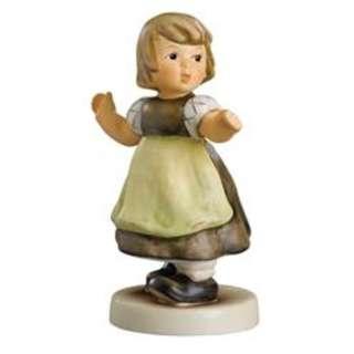 "Goebel Hummel Figurine ""Spring Waltz"" #912/B TMK 8"