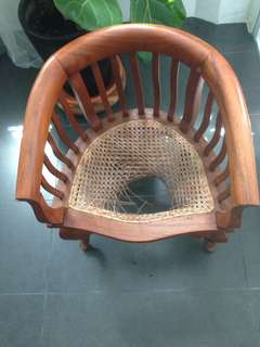 Antique small arm chair