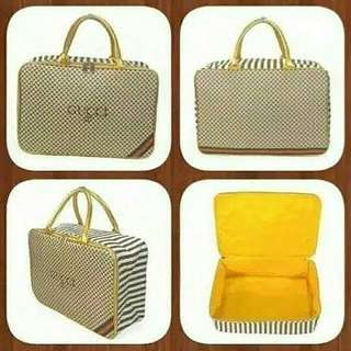 Travel bag bahan gucci kanvas