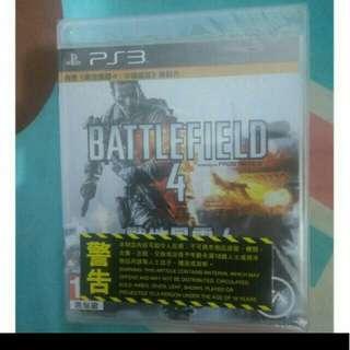 全新 PS3 battlefield 4 戰地風雲4