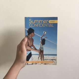 Summer Sunset Confidential — Melissa J. Morgan