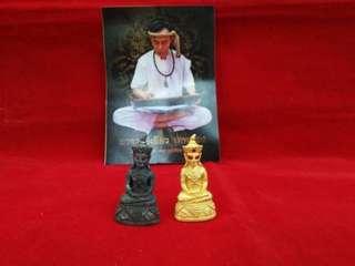 Thai Amulet Pra Ngan Make by ajan Kieaw