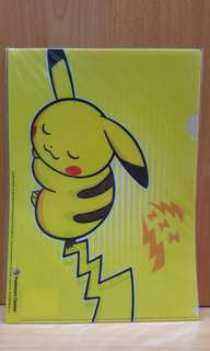 BNIP Exclusive Pokemon Centre A4 Folder (Pikachu)