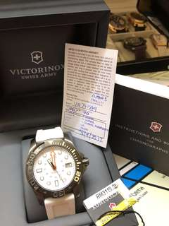 VICTORINOX DIVE MASTER WHITE WATCH