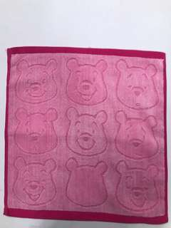 Winnie the Pooh Face towels