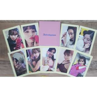 ONHAND OFFICIAL TWICETAGRAM Likey Pre-Order Benefit Photocard SET