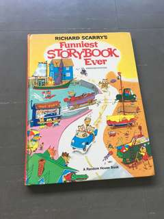 Richard scarry' s funniese story Book ever
