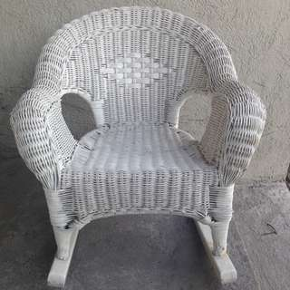 Kid's Rattan Chair