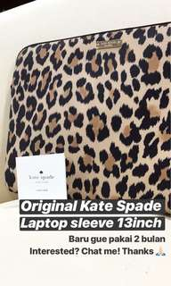 Kate Spade original laptop sleeve 13inch