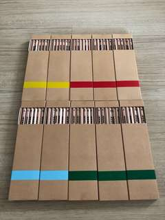IKEA pencils (Made in Austria) 10 Boxes bundle price