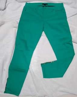 Forever 21 Green Pants