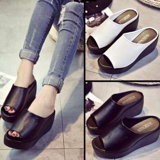Wedges Readystock siap gift