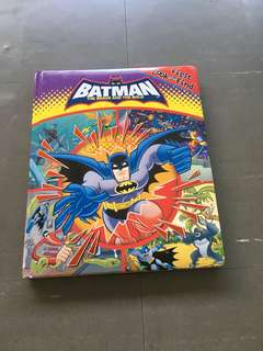 Batman look and find book