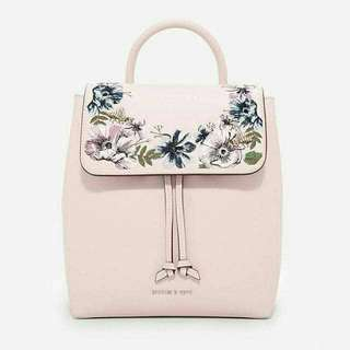 AUTHENTIC CHARLES & KEITH EMBROIDERY