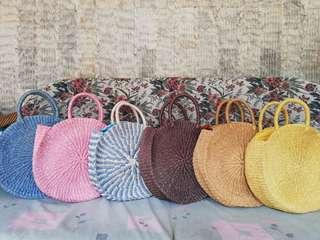 Beatrice round native bags