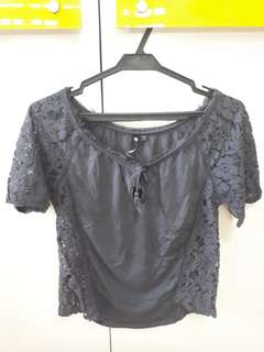 Cotton On gray blouse