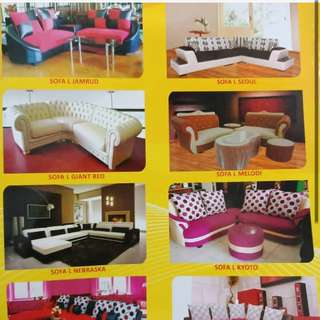 Kredit Sofa Ruang Tamu dan Ruang TV harga 3 jt - 5 jtan