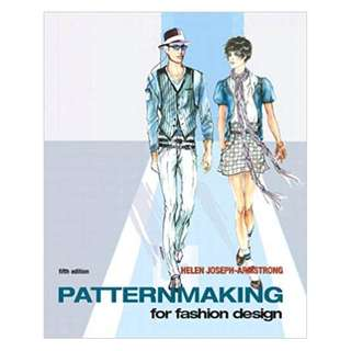 Patternmaking for Fashion Design 5th Edition, Kindle Edition by Helen Joseph Armstrong  (Author)