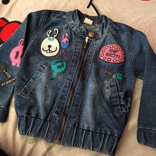 Preloved Maong Jacket