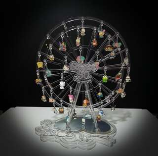 711 hello kitty 50週年 crystal charm collection