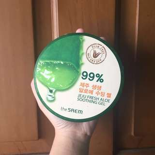 THE SAEM JEJU FRESH ALOE VERA SOOTHING GEL