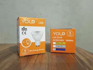 Gu10 tracklight bulb ( spotlight