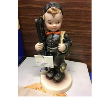 "Goebel Hummel Figurine ""Chimney Sweep"" 70th Anniversary Edition"