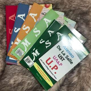 MSA Reviewer Books