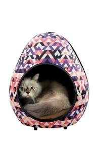 IBIYAYA Gourd Pet House - Triangle (Pink)