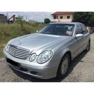 MERCEDES BENZ E200K KOMPRESSOR W211
