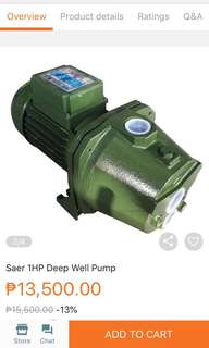 Deepwell Water Pump