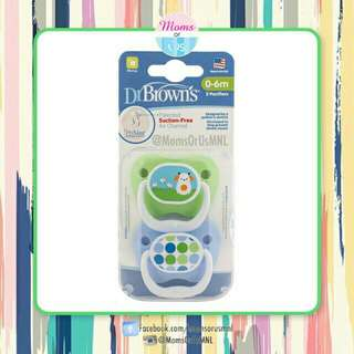 ‼️NEW‼️ DR. BROWN's PreVent Classic Pacifier (Stage 1) 0-6m